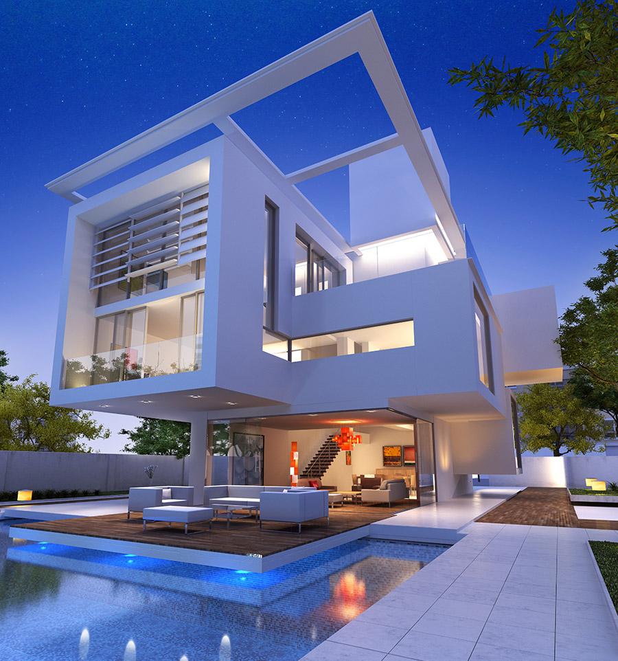 Impressive villa b